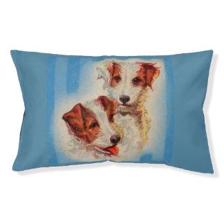 Terriers MIGNONS de Jack Russell Lit Pour Chien