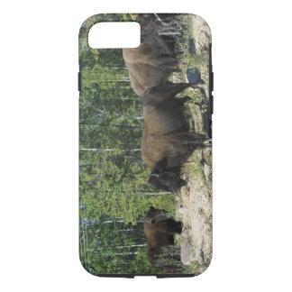 Territoires du nord-ouest. Ressortissant en bois Coque iPhone 7