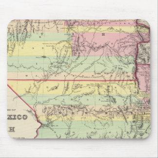 Territoires du Nouveau Mexique et de l'Utah Tapis De Souris