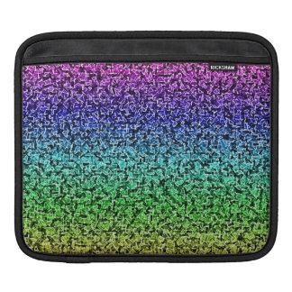 Tessons d'arc-en-ciel poches pour iPad