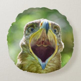 Tête 001 d'Eagle de steppe 2,1 Coussins Ronds