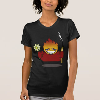 Tête brûlée ! ! t-shirts