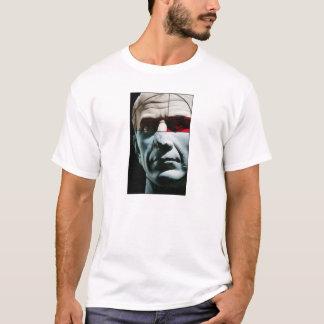 Tête colorée de Jules César dans la section d'or T-shirt