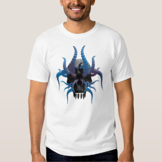 Tête cornée 1 d'os t-shirts