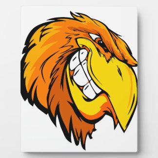 tête d'aigle plaque photo