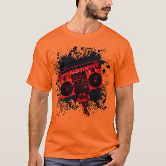 Tête de BoomBox éclaboussée T-shirt