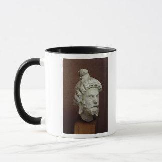 Tête de Brahma, Afghanistan, 2ème-4ème siècle Mug