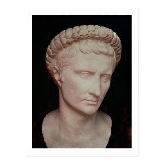 Tête de César Augustus Carte Postale