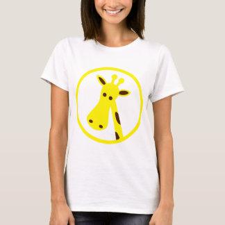 Tête de girafe t-shirt