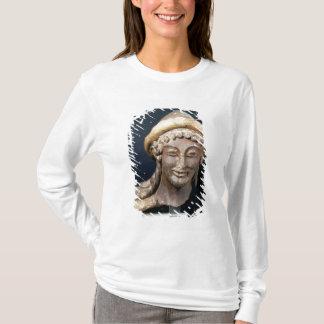 Tête de Hermes portant des pilos T-shirt