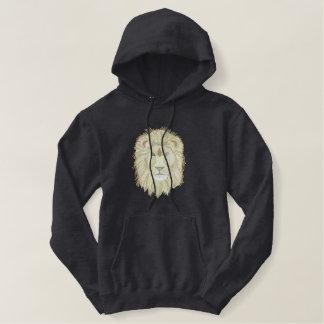 Tête de lion sweatshirt avec capuche