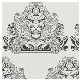 tête de lion tissu