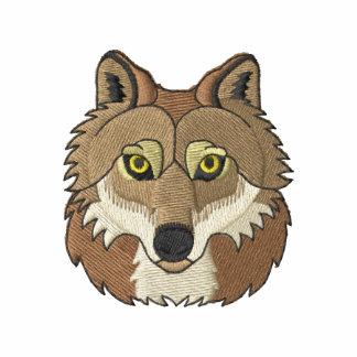 Tête de loup veste brodée