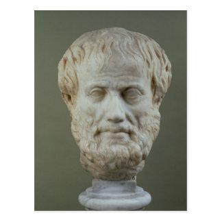 Tête de marbre d'Aristote Cartes Postales