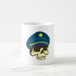 Tête de mort crâne général skull tasse