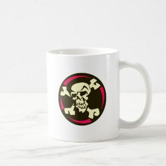 Tête de mort crâne os skull bones mugs à café