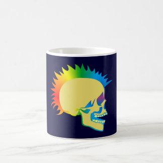 Tête de mort crâne punk skull tasse