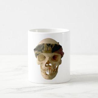 Tête de mort crâne skull bandeau headband mug blanc