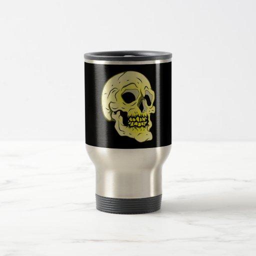 Tête de mort crâne skull tasse