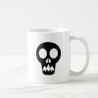 Tête de mort crâne skull mugs à café