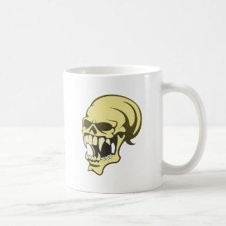 Tête de mort crâne skull mug à café