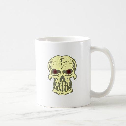 Tête de mort crâne skull tasses