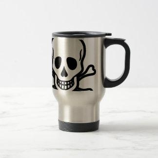 Tête de mort mug de voyage