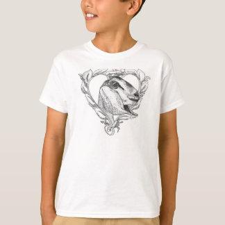 Tête de Nubian au coeur T-shirt