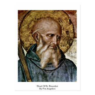 Tête de St Benoît par ATF Angelico Cartes Postales