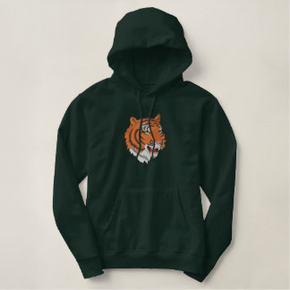 Tête de tigre sweatshirt avec capuche