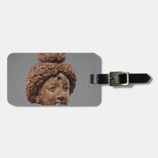 Tête d'un Bouddha ou d'un Bodhisattva Étiquette À Bagage