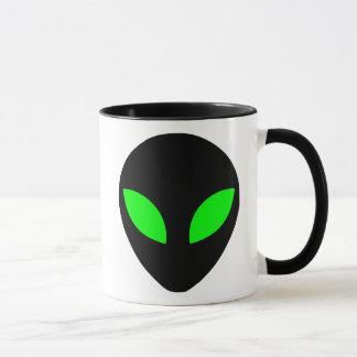 Tête étrangère mug