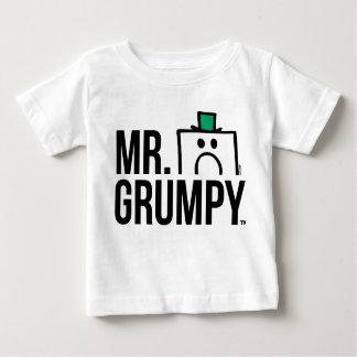 Tête jetante un coup d'oeil de M. Grumpy   T-shirt Pour Bébé