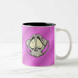 Tête morte mugs à café