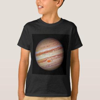 Tête rouge de tache de ` de JUPITER de PLANÈTE sur T-shirt