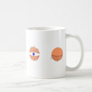 tête somnolente mug
