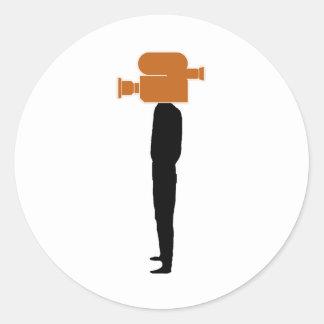 tête visuelle - png sticker rond