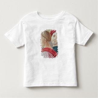 Têtes de deux hommes de la présentation de Mary T-shirt Pour Les Tous Petits