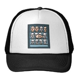 Têtes de mannequin casquette de camionneur