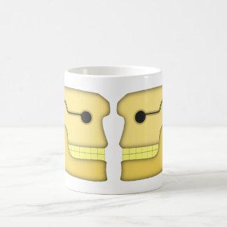 Têtes de mort crânes skulls tasse à café