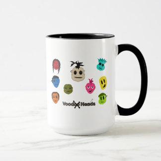 Têtes de vaudou mug