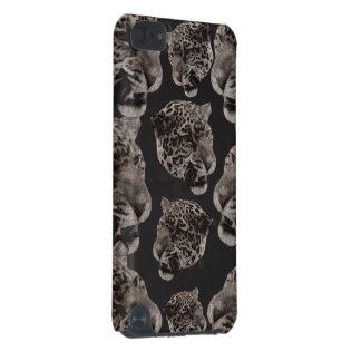 Têtes grunges de léopard de Black&White Coque iPod Touch 5G