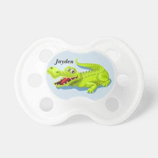 Tétine Alligator mignon du bébé de l'enfant