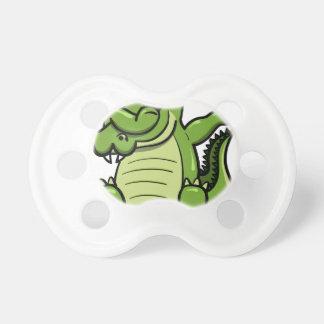 Tétine Alligator tamponnant d'animaux