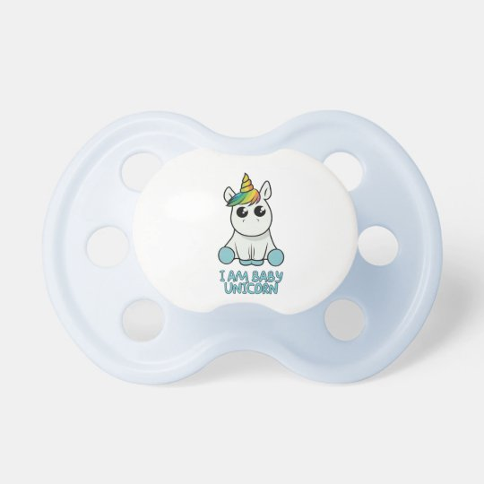 Tétine baby unicorne
