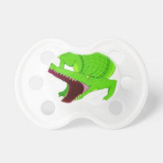 Tétine bande dessinée d'alligator