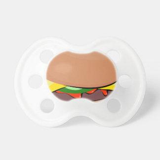 Tétine Bande dessinée de cheeseburger