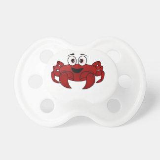 Tétine Bande dessinée de crabe