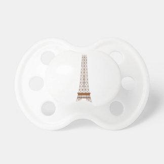 Tétine Bande dessinée de Tour Eiffel