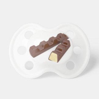 Tétine Barres de chocolat du lait